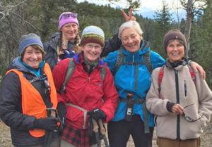 Mahogany Ridge on cold day
