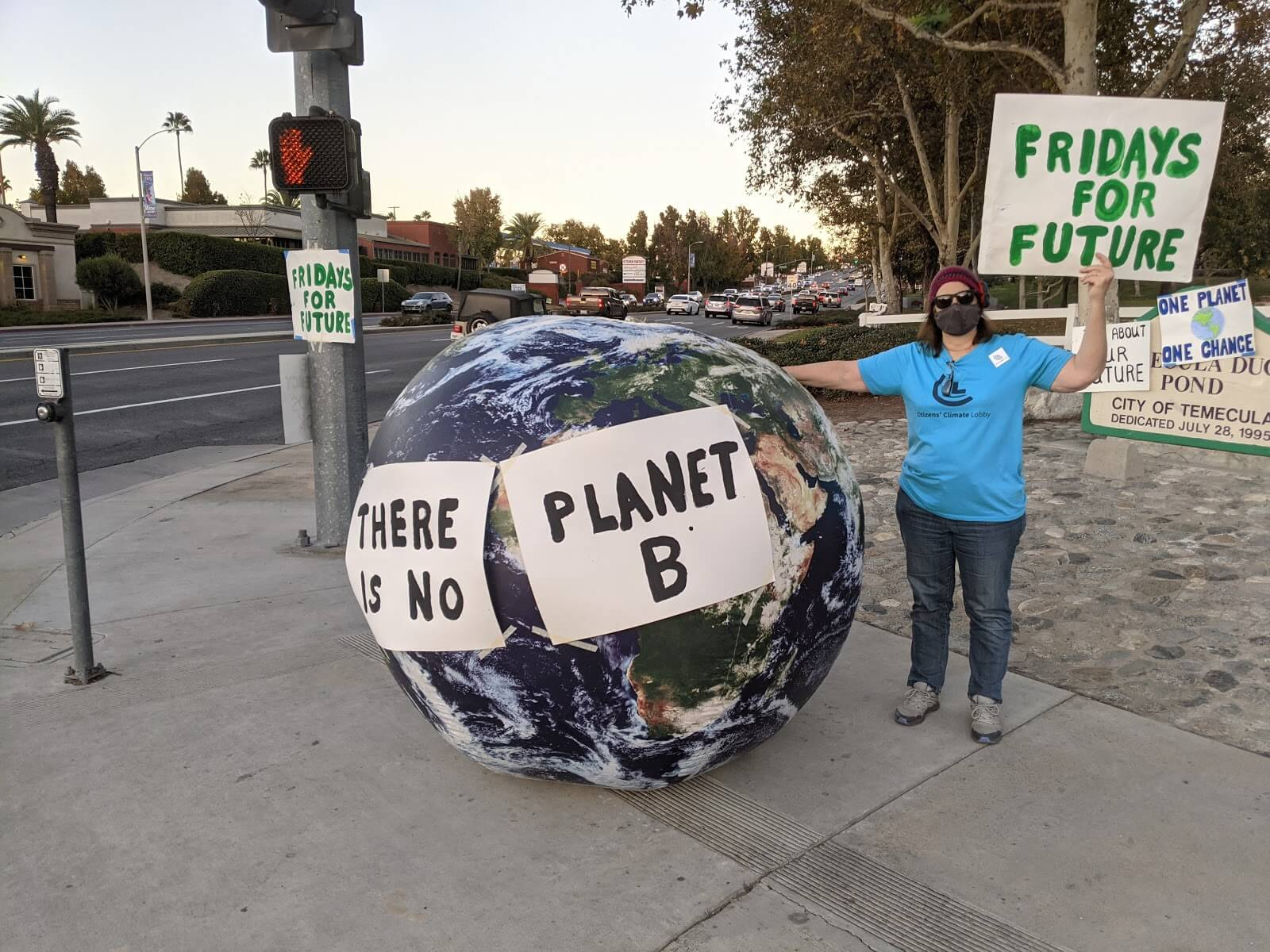 """Supporting Greta Thunberg's """"Fridays For Future"""" rally"""