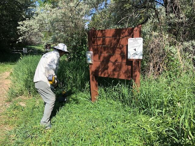 National Trails Day Stewardship Project, September 25, 2021